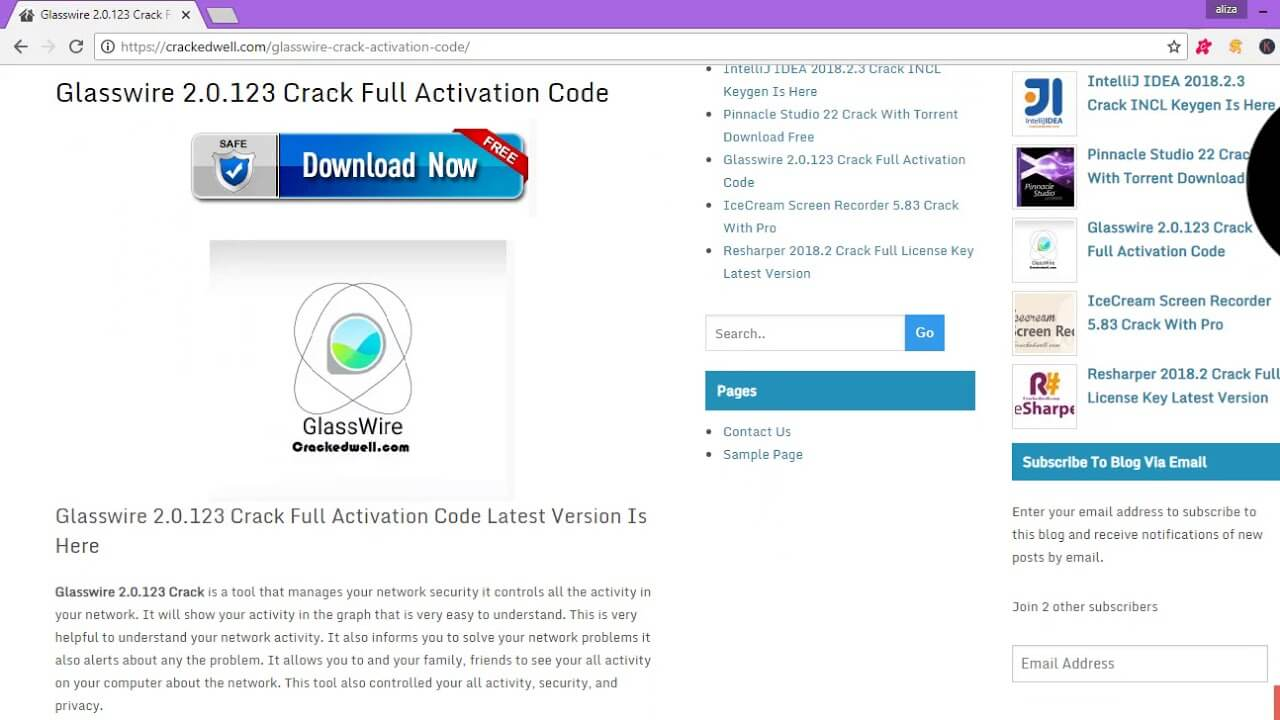 GlassWire Elite Activation Code Free Download 2020